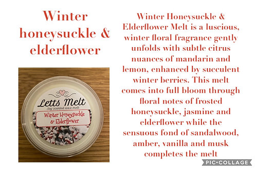 Winter honey suckle & Elderflower
