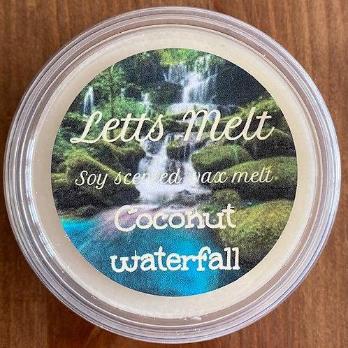 Coconut waterfall