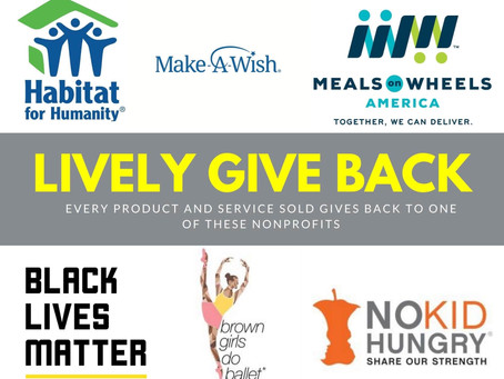 Lively Give Back Program