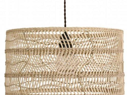 Lámpara de suspensión de ratán