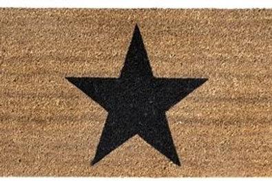 Felpudo con estrella