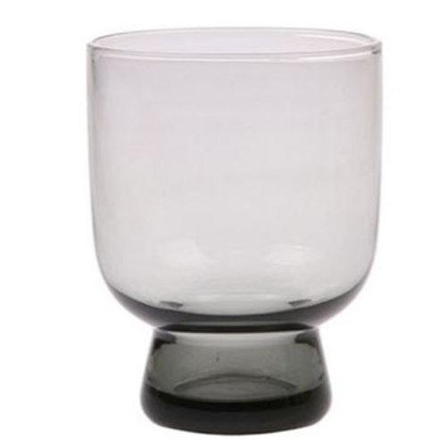 Vaso de cristal mediano