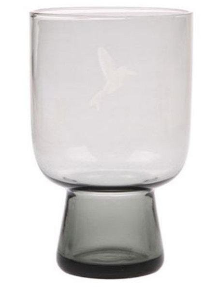 Vaso de cristal grande