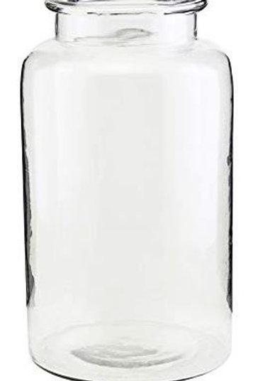 Jarron Cristal 33 cm, dia: 19 cm