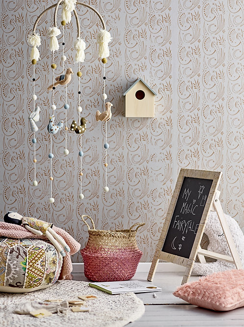 Caja, casita de madera