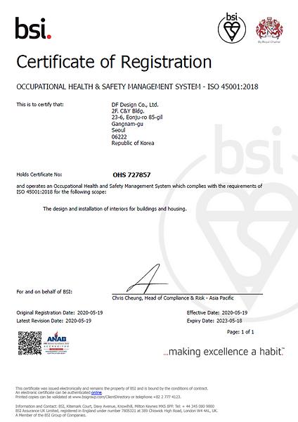 ISO 45001 2018 Health & Safety Managemen