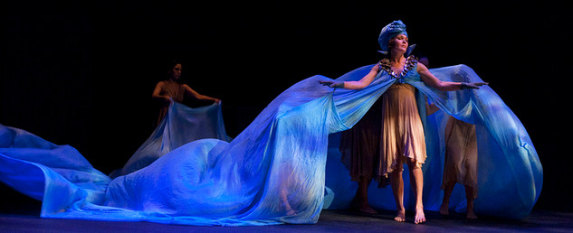 The Penelopiad | Set & Costume design by Denyse Karn. Lighting design by Kimberly Purtell.