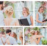 Styled Hochzeit - Hochzeit im Gewächshaus