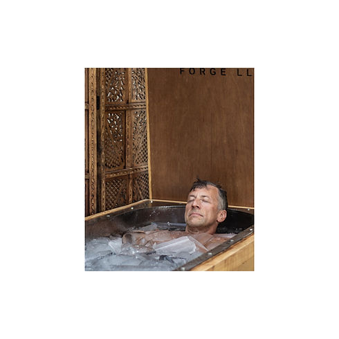Thomas Seager Ice Bath in the Morozko Forge