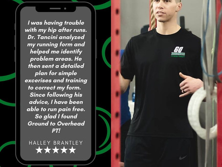 What are others saying about Ground to Overhead Physical Therapy?