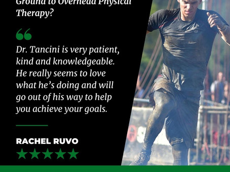 What are others saying about Ground to Overhead Physical Therapy?⁠
