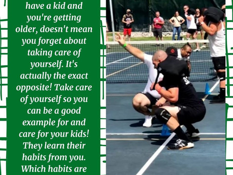 Which habits are you teaching them?