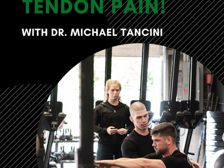 [ATTENTION ATHLETES WITH TENDON PROBLEMS!]