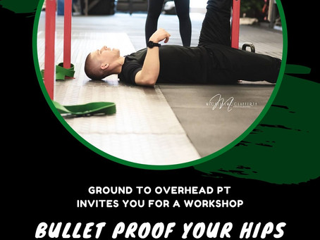 Bullet Proof your Hips and Back!