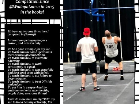 First Individual CrossFit Competition since @WodapaLooza in 2015 in the books!