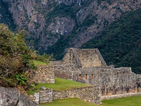 The views at Machu Picchu
