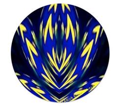 Piatto piano orizzontale giallo_blu