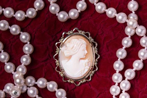 Heirloom photo - cameo jewelry photo