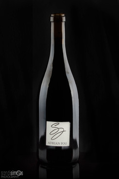 Product photo - wine bottle