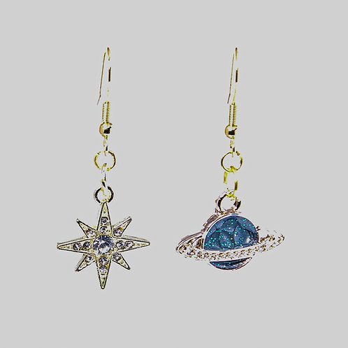 You Are My World and Star Earrings