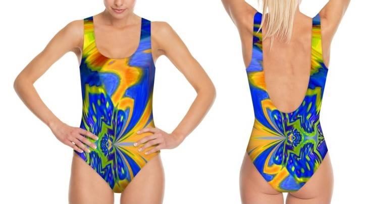 Costume intero olimpionico in lycra