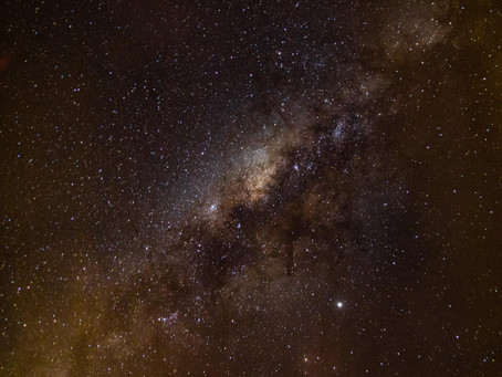 Milky Way Photo - My process the first time out