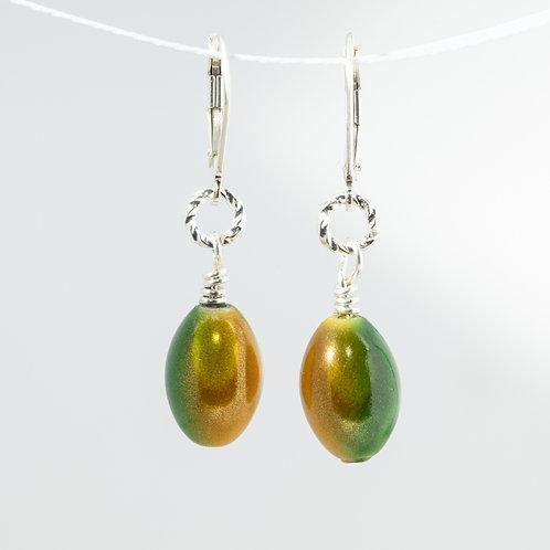 Green Bay Fan Earrings