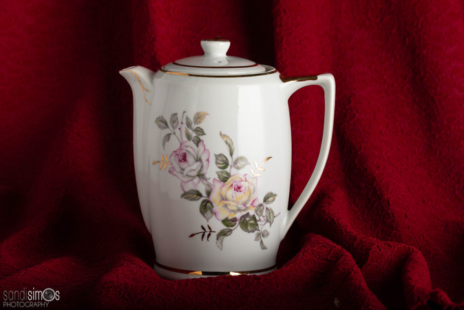 Heirloom photo - china teapot