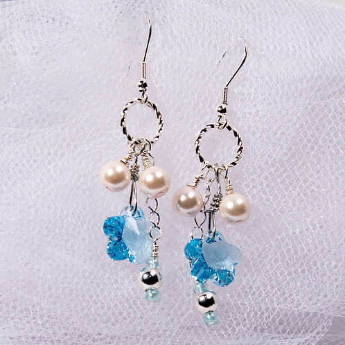Swarovski & Pearl Blossoms