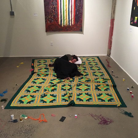 THE FABRIC OF WOMEN'S SPACETIME - LACEMILL GALLERY - KINGSTON, NY