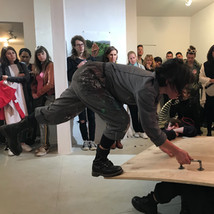 CITIZEN PARTICIPATION WITH  FEMINIST ART GROUP AT ABC NO RIO / BULLET SPACE IN NYC