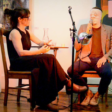 Nina Isabelle Interviewed by Bandage Head Man