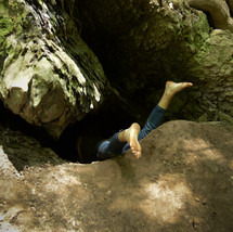 CAVE GIRL - WOODWARD, PA