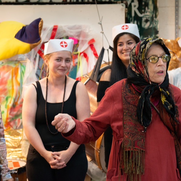 Linda Mary Montano presents the Gland Doctors