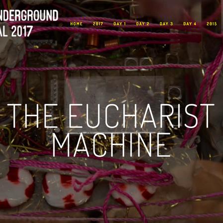 THE EUCHARIST MACHINE - BANGKOK UNDERGROUND FILM FESTIVAL