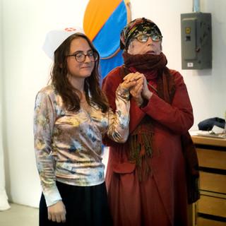 Linda Mary Montano presents Amanda Heidel