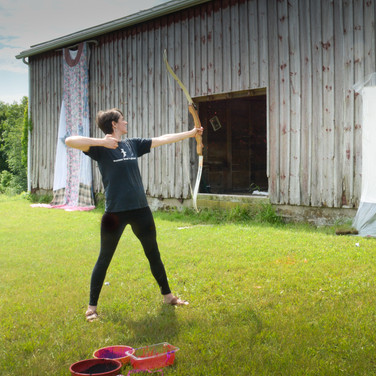 Nina Isabelle's Experimental Archery Workshop
