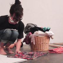 LAUNDRY LOOPS - FEMINIST ART GROUP / JOB - PANOPLY LAB - BROOKLYN, NY