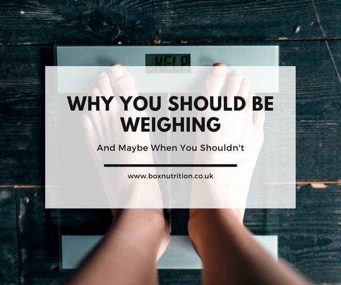 Why You Should Be Weighing - and Maybe When You Shouldn't