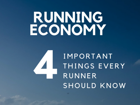 Running Economy – 4 Important Things Every Runner Should Know