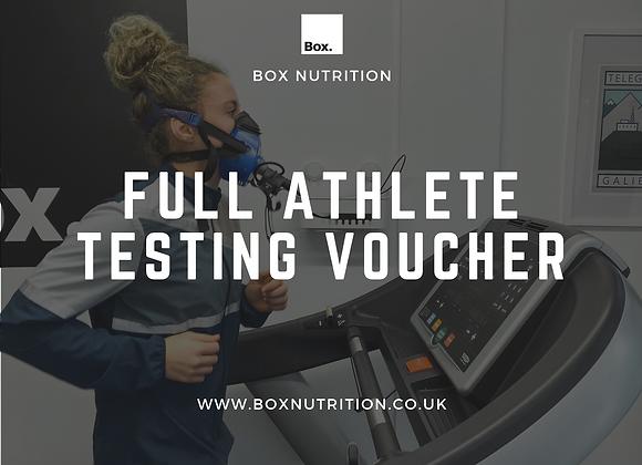 Full Athlete Testing Voucher