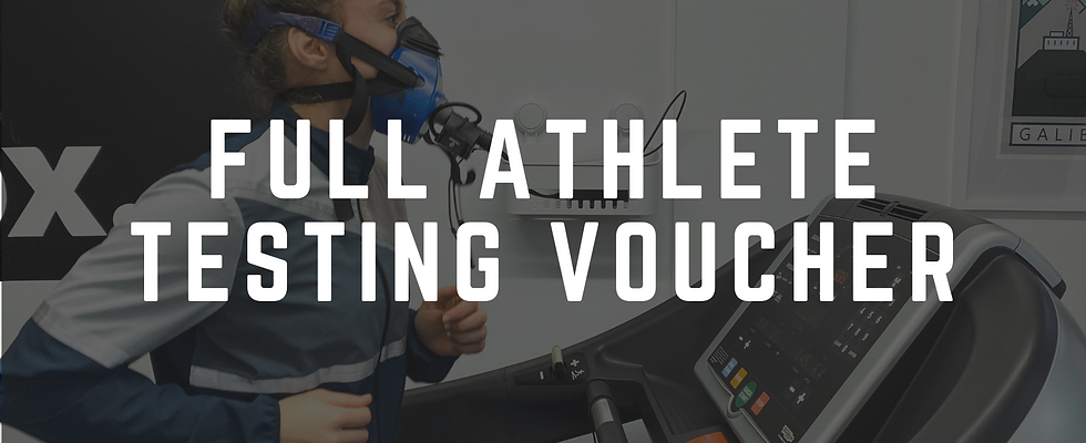 Full Athlete Testing Voucher