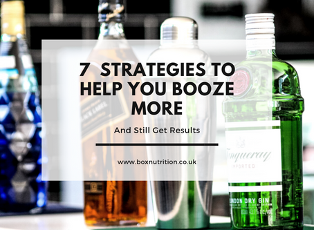 7 Strategies to Ensure Boozing Doesn't Affect Your Progress