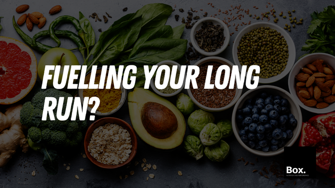 What to eat on your long run?