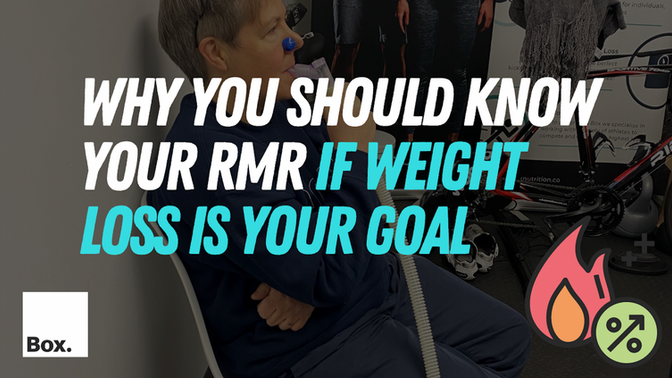Why you should know your RMR if weight loss is your goal