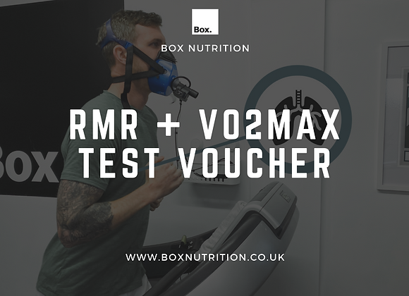 V02Max and RMR Testing Voucher