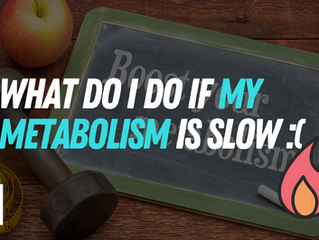 How can I lose weight with a slow metabolism