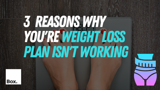 3 Reasons You're Not Seeing Results on Your Weight Loss Plan