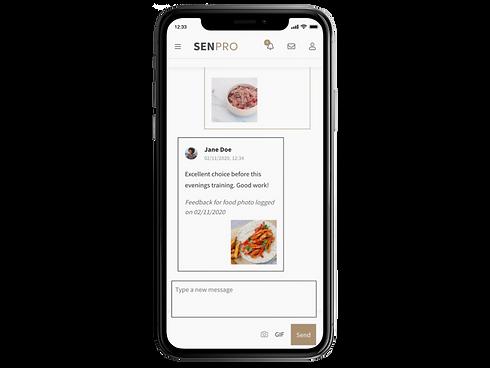 SENPRO, messages, transparent background