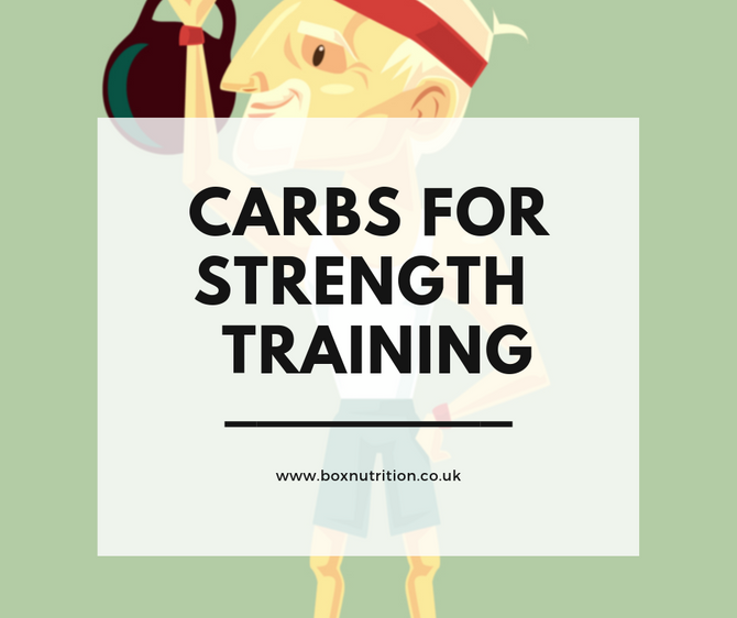 How many carbohydrates do you need for strength training?